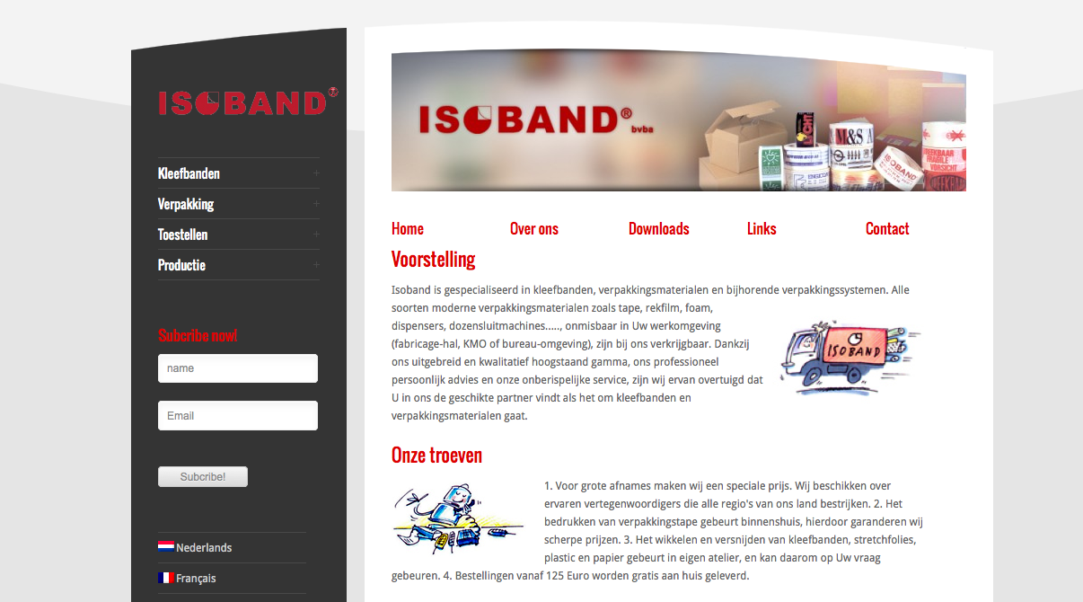 website Isoband
